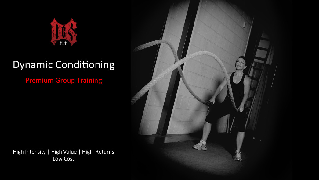 Dynamic Conditioning - Premium Group Training Fitness Class
