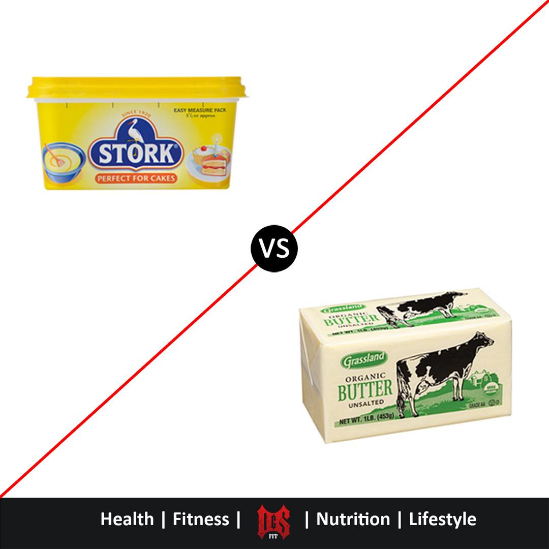 Butter v Margarine. Which is healthier?