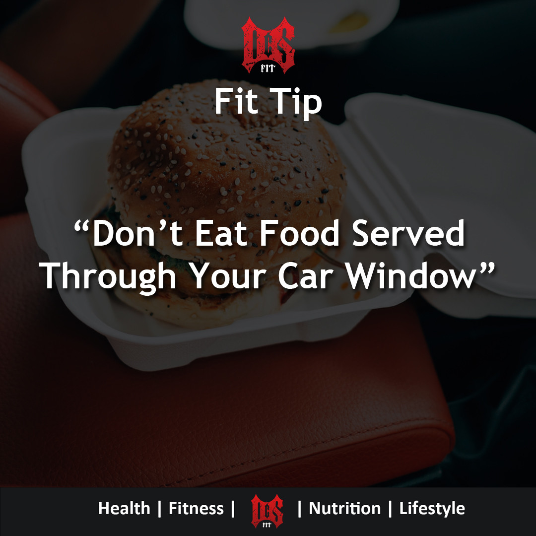 Avoid food served through your car window