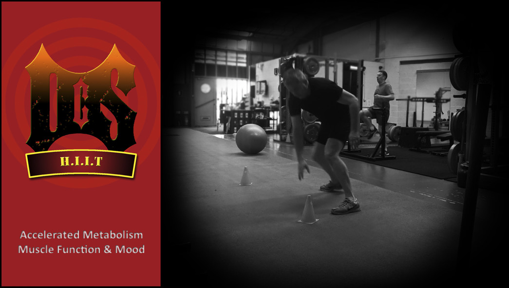 DCS HIIT - High Intensity Fat Burn Training Session Clydebank Glasgow